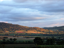 kington walking landscape